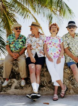 seniors on vacation