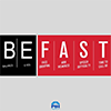 "Picture of graphic with ""Be Fast"" stroke warning signs"