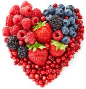 Fruits for a heart healthy diet