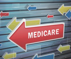 photo of a sign with Medicare