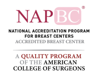 Logo for national accreditation program for breast centers