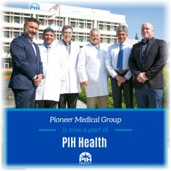 Photo of PIH Health management