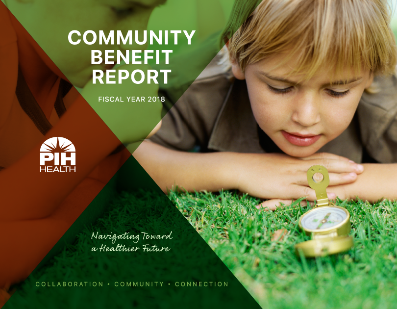 Community Benefit Annual Report Cover