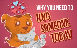 Why you need to hug someone today